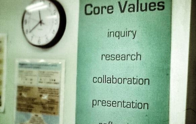Core Values Are Not Enough