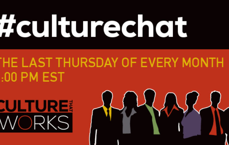 Next #CultureChat: Culture and Technology