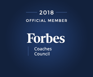 Official Member, Forbes Coaches Council 2018.