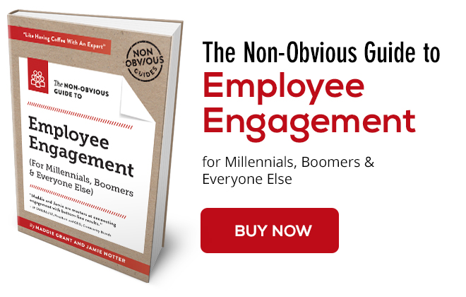 Order The Non-Obvious Guide to Employee Engagement