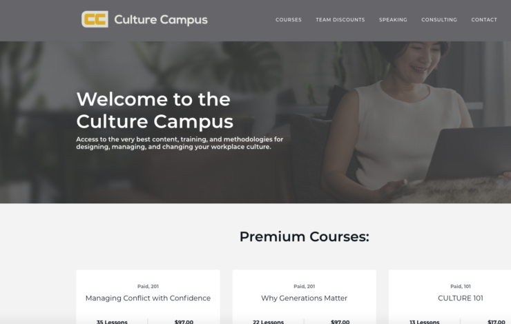 Upping My Online Education Game: The Culture Campus