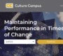 Pilot Online Training Course on Rapid Culture Change
